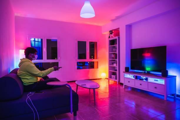 Iluminación LED de colores