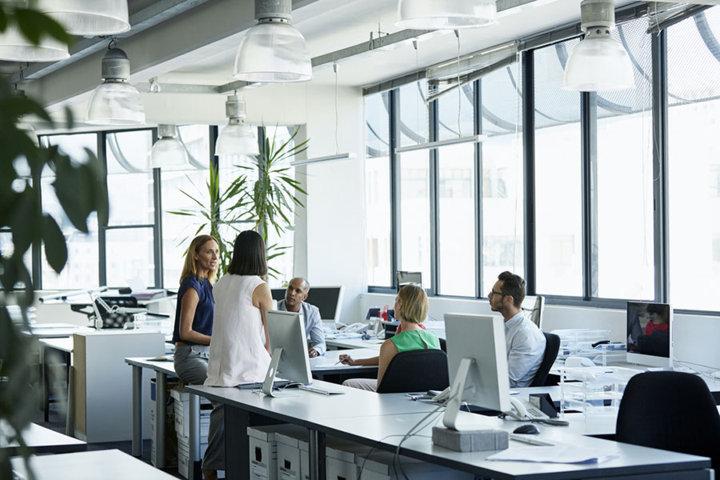 Iluminación en el ambiente laboral