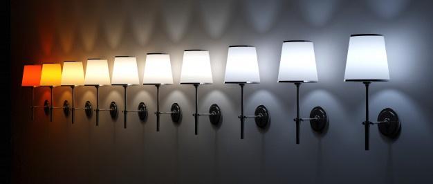 Tipos de Temperatura de color de la iluminación LED