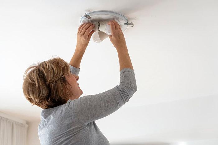 cambiar a la iluminación LED