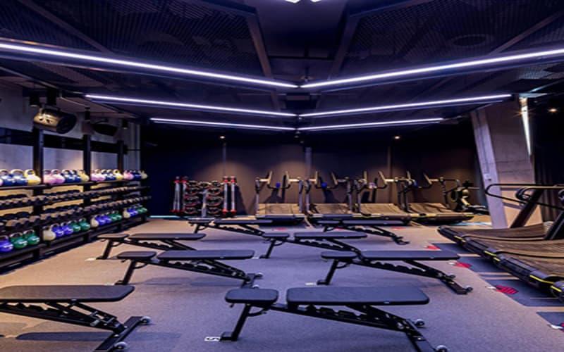iluminación-LED-para-gimnasios