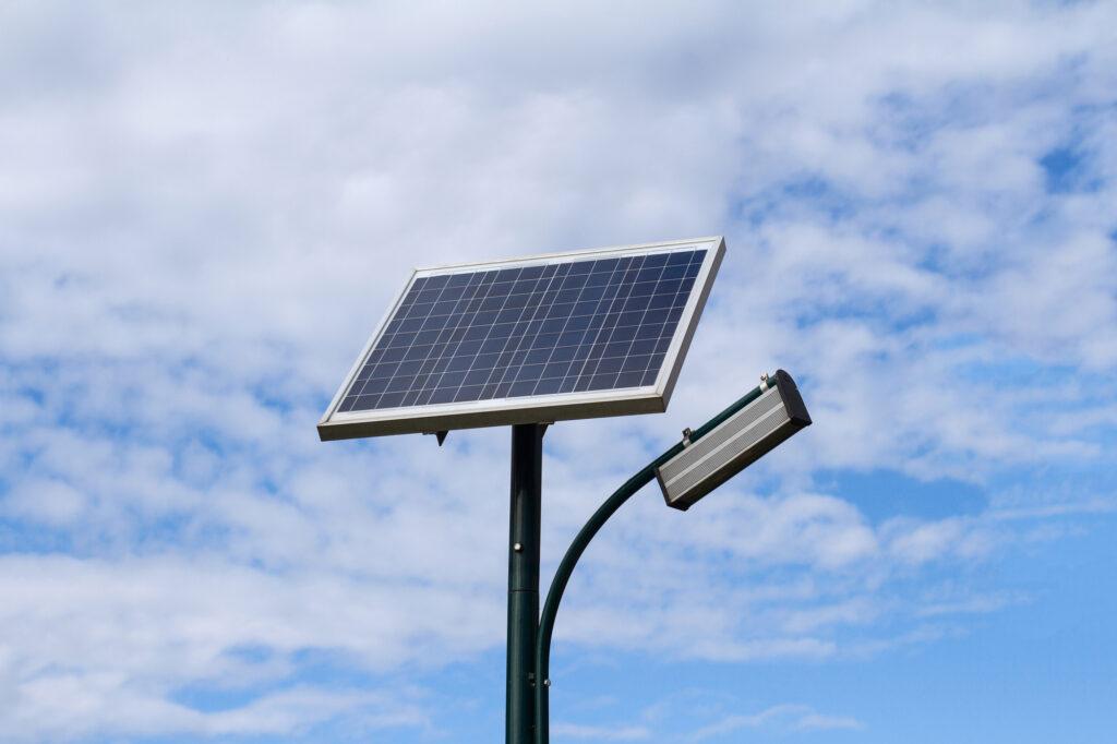 Iluminación led con energía solar 1