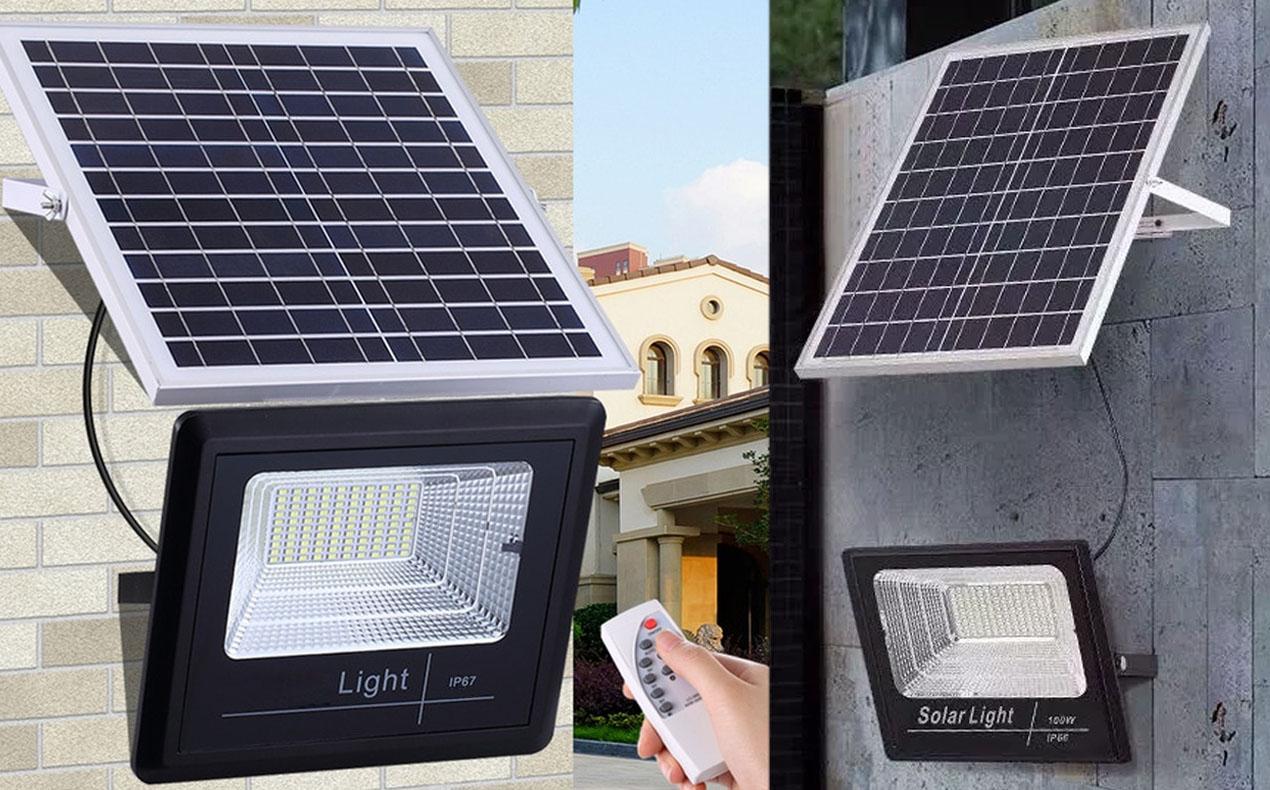 Iluminación led con energía solar 2