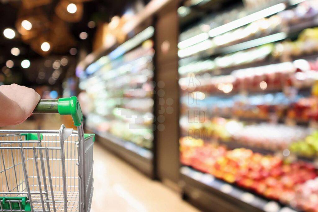 Supermercados y minoristas adoran la iluminación Led 1