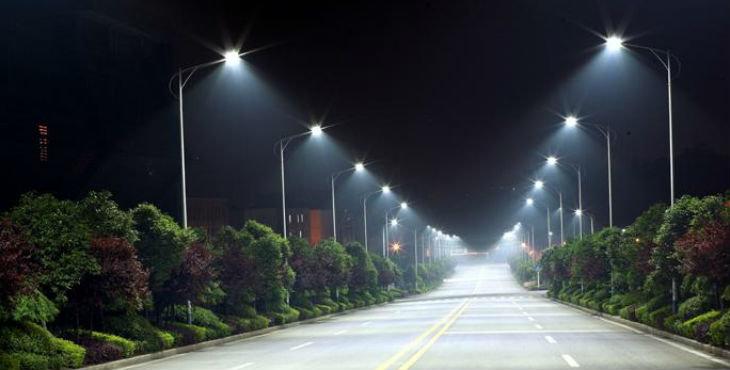 alumbrado publico con luz led 1
