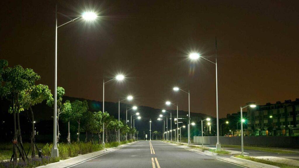 alumbrado publico con luz led 2