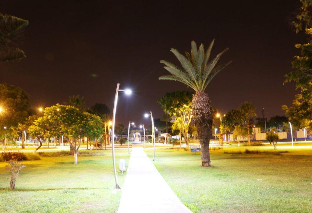 La iluminación led provee seguridad a los parques 1d provee seguridad a los parques 1