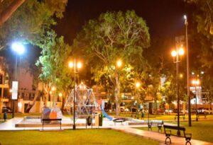 La iluminación led provee seguridad a los parques 2