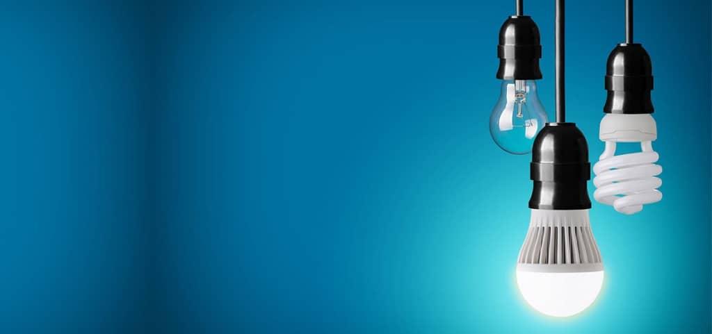 cambiar a luz led