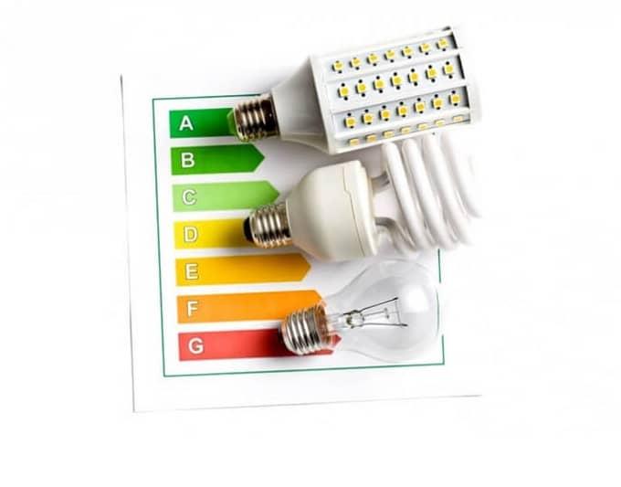 eficiencia lamparas led