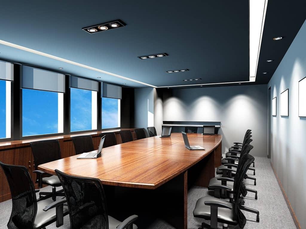 iluminacion led en oficinas