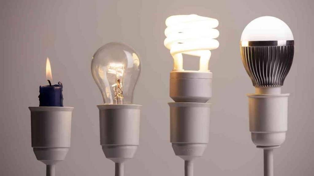 lampara bajo consumo vs led