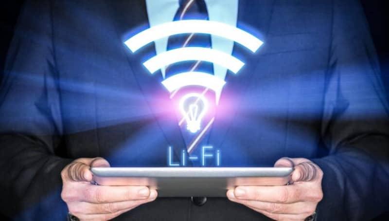 panel led con li-fi