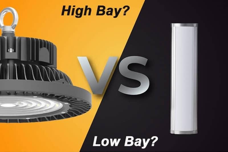 luminarias low bay y led high bay